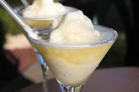 JPG image of pineapple slushies