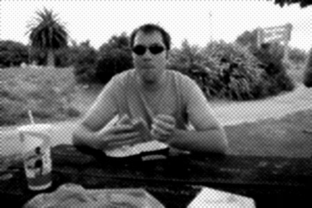 JPG image of having Mac Donald's on a picnic table