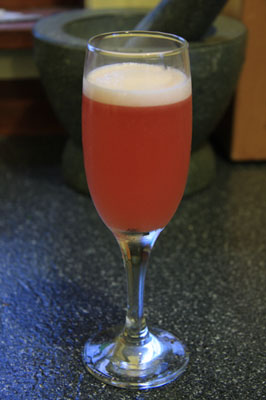 Rosebud cocktail