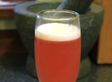 Rosebud cocktail