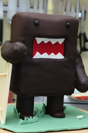 The Domo cake 