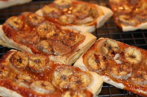 Busy-mum banoffee tarts 