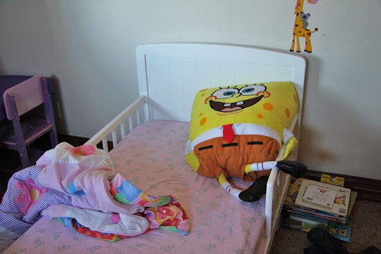 SpongeBob doesn't leave much room for Abby
