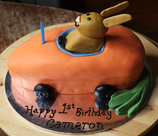 Cameron's Carrot Car Cake