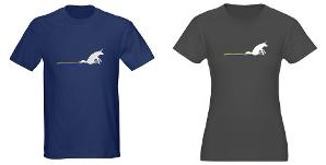 Unicorn Rainbow Shuffle shirts