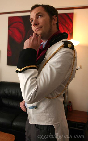 Home made Prince Hans coat