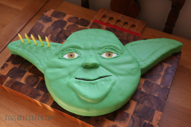 Yoda cake